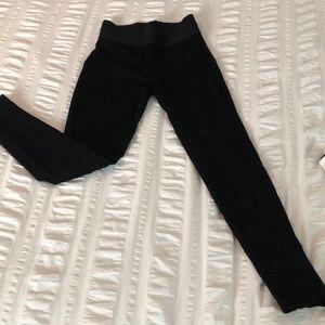 Zara High Waisted Leggings Size M